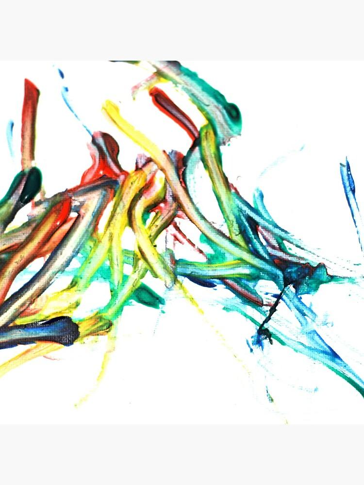 Tote Bag Peindre L Eclaboussure Peinture Au Doigt Par Charloni Redbubble