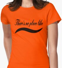 There's no place like home - Black Text Computer Geek Design T-Shirt