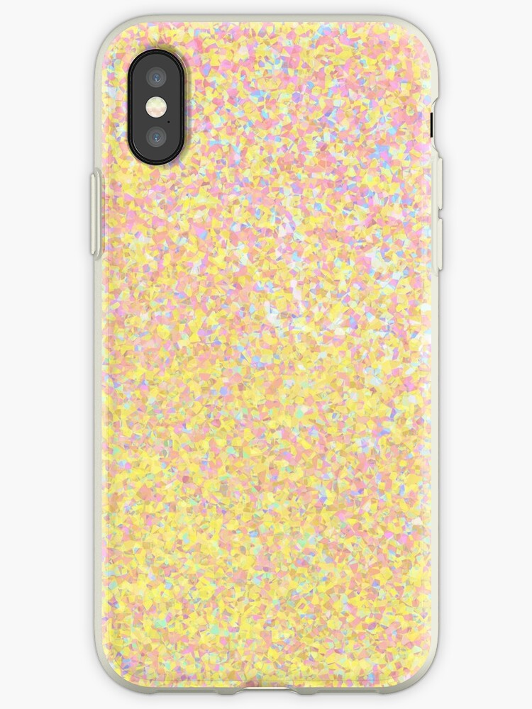 sparkly iphone xs case