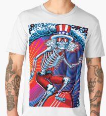 dead head surfer art Men's Premium T-Shirt