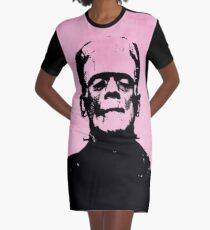 Frankenstein Graphic T-Shirt Dress