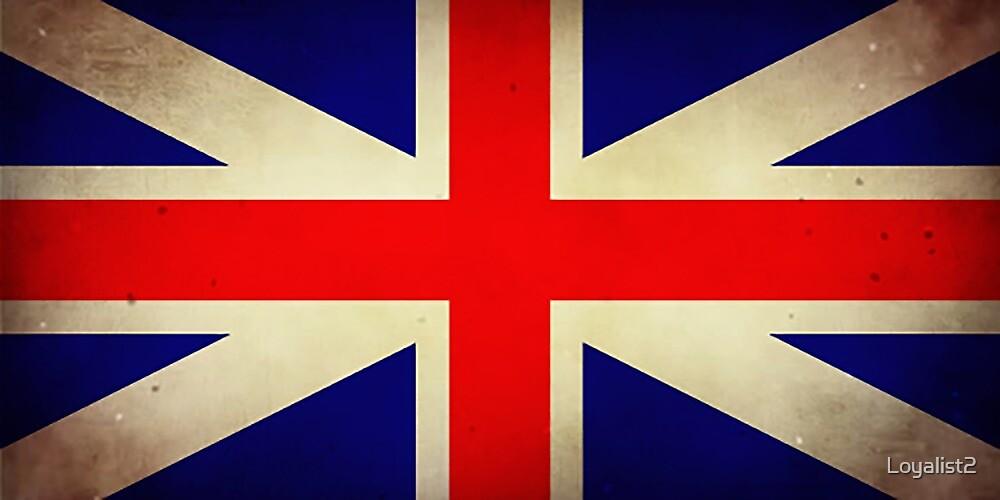 Grungy Loyalist Flag by Loyalist2