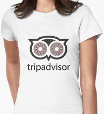 Trip Advisor Women's Fitted T-Shirt