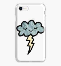 Thunder cloud iPhone Case/Skin