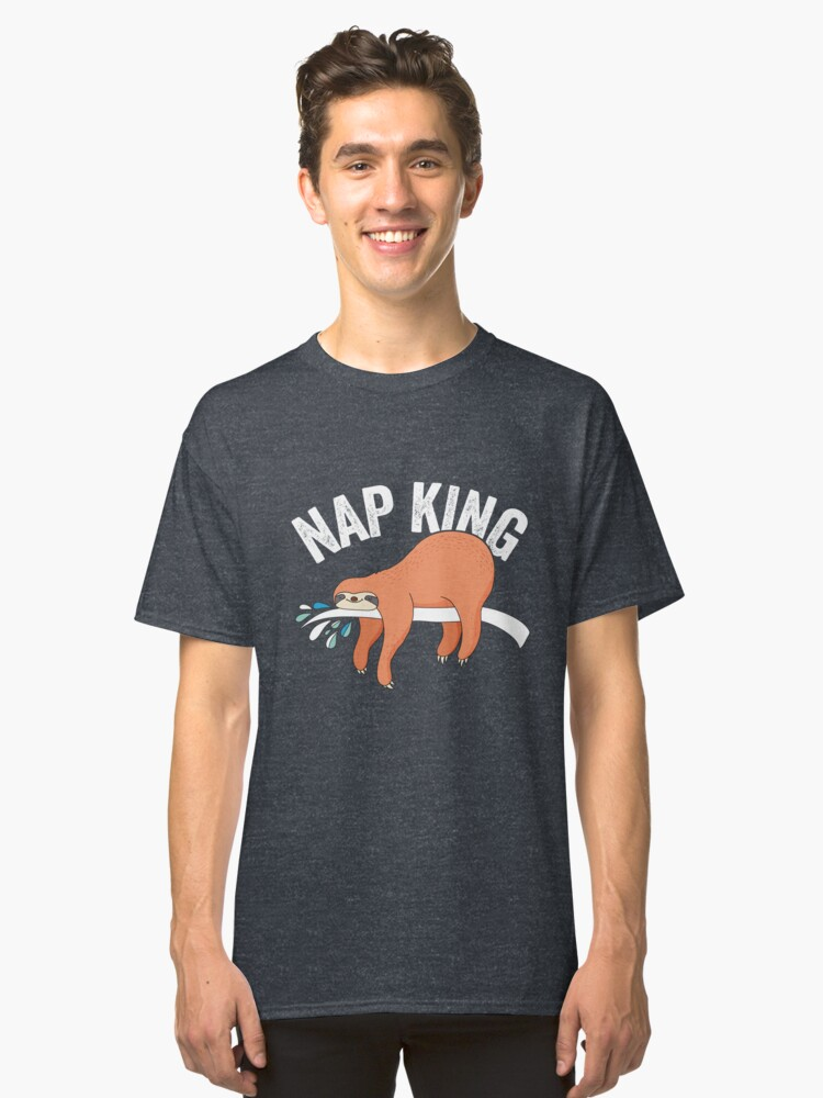 Nap King Classic T-Shirt Front