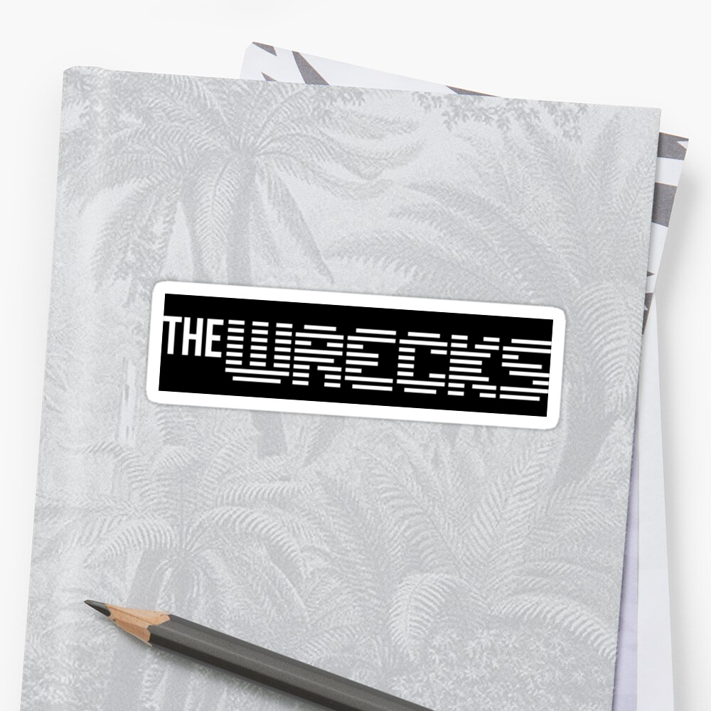 The Wrecks name print  by IKDESIGNS
