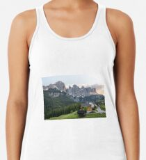 Camiseta con espalda nadadora Wonderful Dolomites