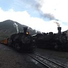Classic Locomotives, Silverton, Colorado  by lenspiro