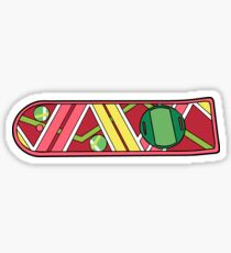 McFly skateboard - Back to the Future Sticker