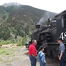 Classic Locomotive, Silverton, Colorado  by lenspiro