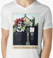 Grateful dead art poster skeletons painting T-Shirt