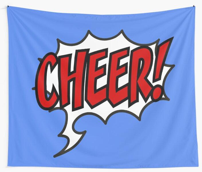 Cheer! Cheerleader Design by Pferdefreundin
