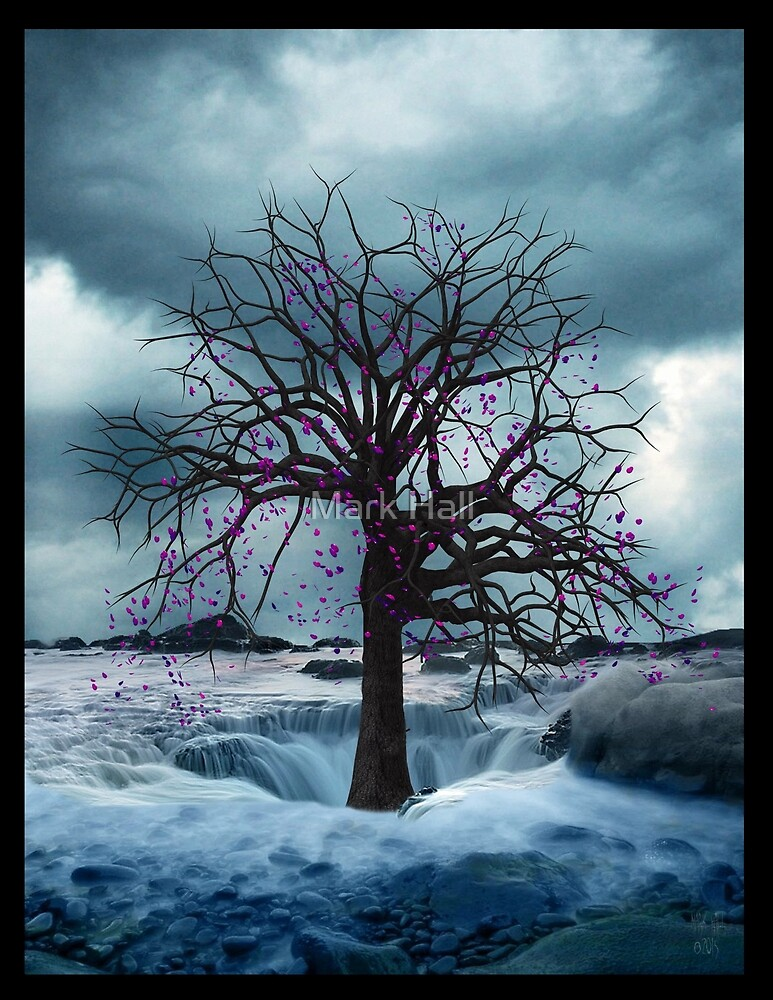 TREE OF LIFE (PURPLE) by Mark Hall