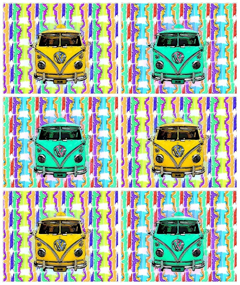 Beach Bus by mokacat
