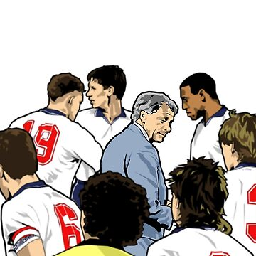 Portrait Of An Icon - Bobby Robson by michaelatkinson
