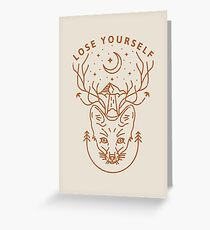 Lose Yourself In Nature Greeting Card
