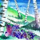 Birch Trees by Curtiss Shaffer