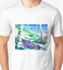 Birch Trees Unisex T-Shirt