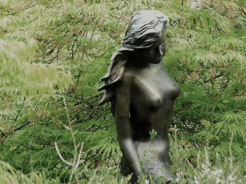 Garden Statue by Judi Taylor