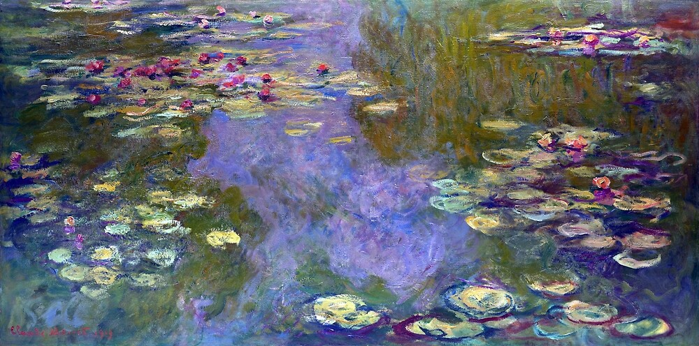 Claude Monet Water Lilies by pdgraphics