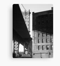 Lienzo Under the Manhattan Bridge