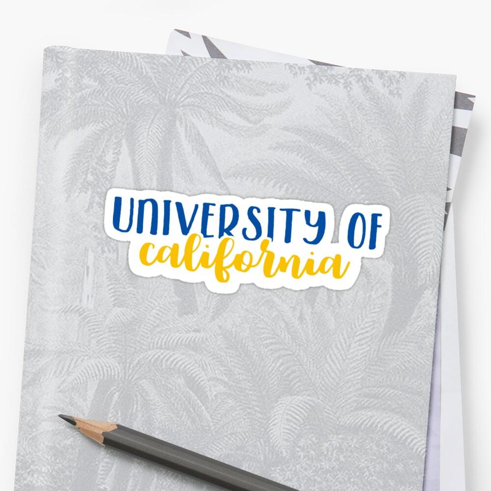 University of California by Pop 25