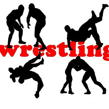 wrestling by Lusiq