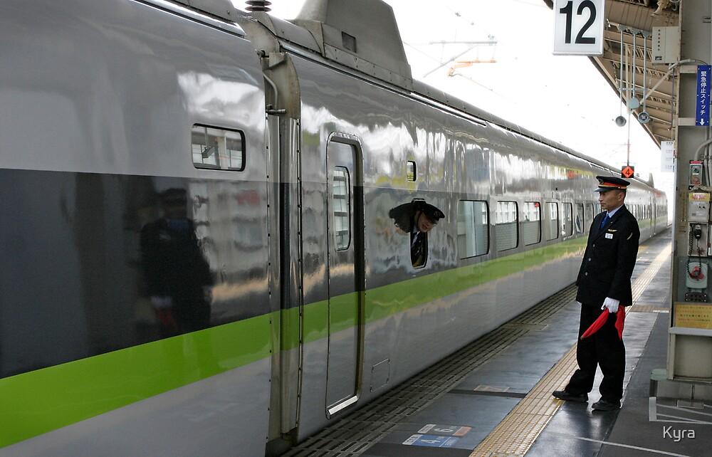 Himeji station by Kyra  Webb