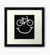 BIKE SMILE  Framed Print