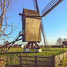 Huisekoutermolen, windmill in Huise, Belgium by 7horses
