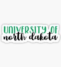 University of North Dakota Sticker