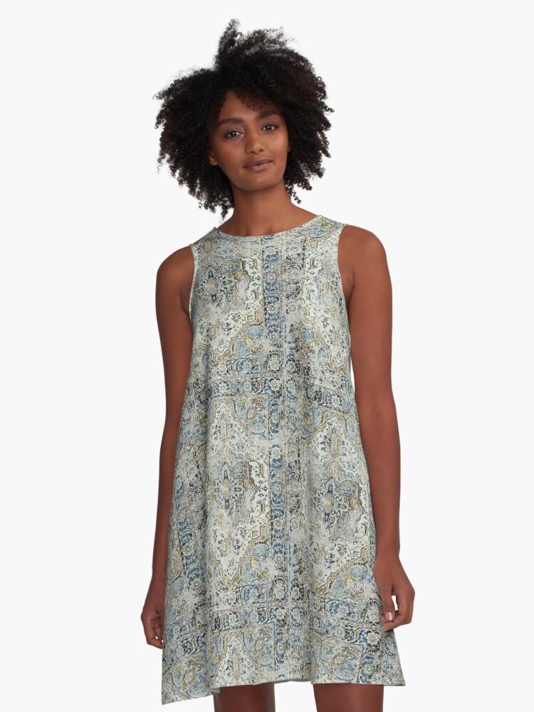 Sketch Carpet A-Line Dress Front