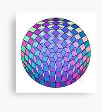 Fresh Cube Ball 42 Canvas Print