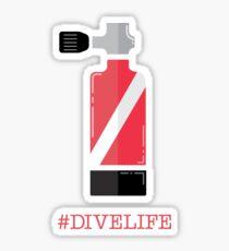 #divelife Sticker