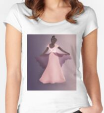 Natasha Women's Fitted Scoop T-Shirt