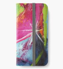 Fear + Shadows VERSUS Love + Light iPhone Flip-Case/Hülle/Skin