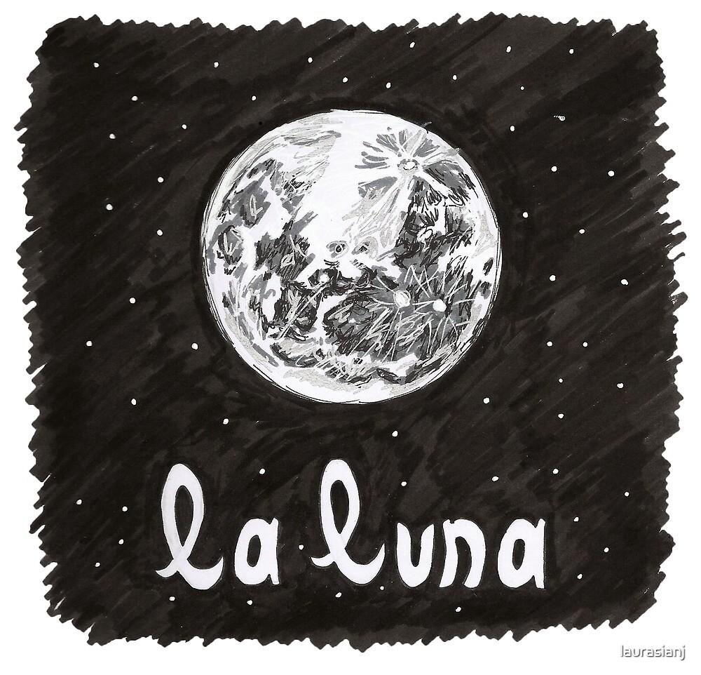 La Luna by laurasianj