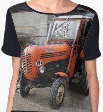 Diesel Tractor Steyr KL II , Styria Austria Women's Chiffon Top