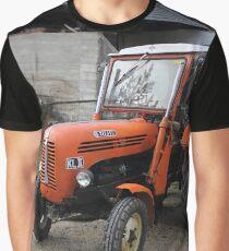 Diesel Tractor Steyr KL II , Styria Austria Graphic T-Shirt