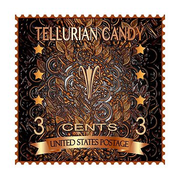 TELLURIAN CANDY STAMP... Yes, I did! by FaithMayo