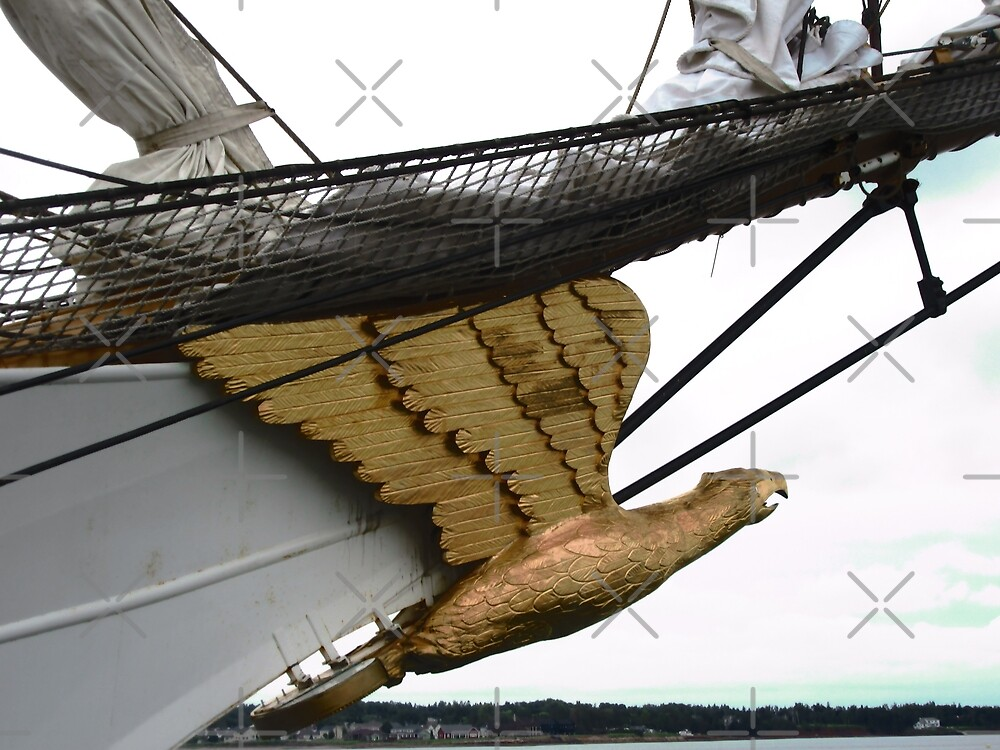 """Figurehead of """"The Eagle"""" by Shulie1"""