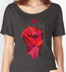Rebel Fist Women's Relaxed Fit T-Shirt