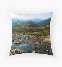 Sapa,Vietnam Throw Pillow