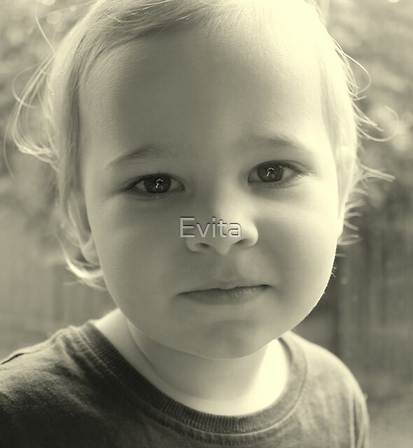 Before The *Haircut* by Evita