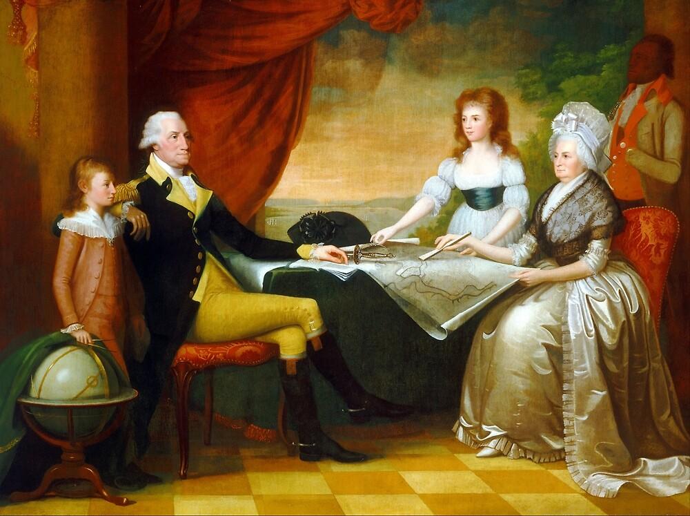 Edward Savage The Washington Family by pdgraphics