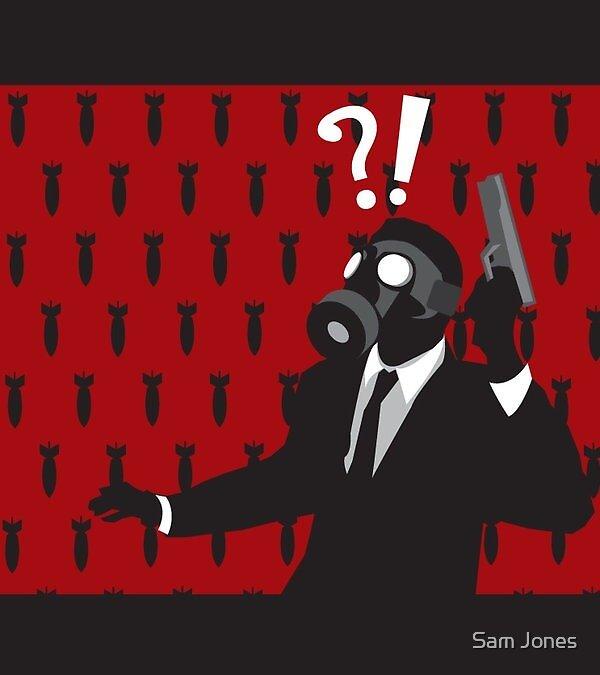 Gas Mask Suit PT2 by Sam Jones