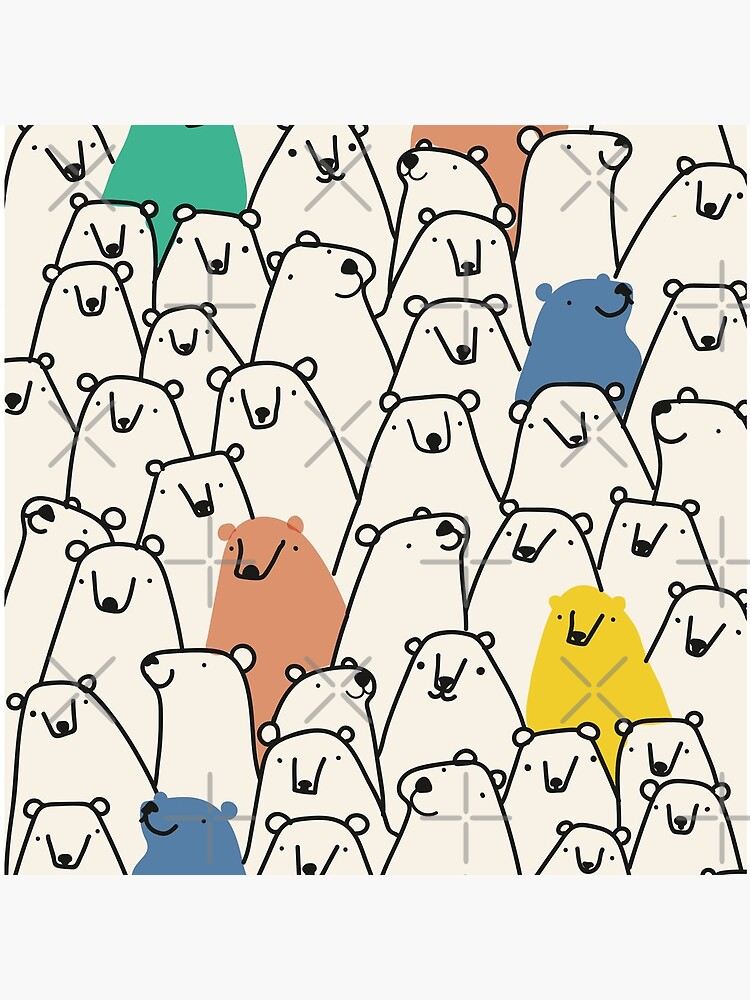 Bears pattern by theseakiwi