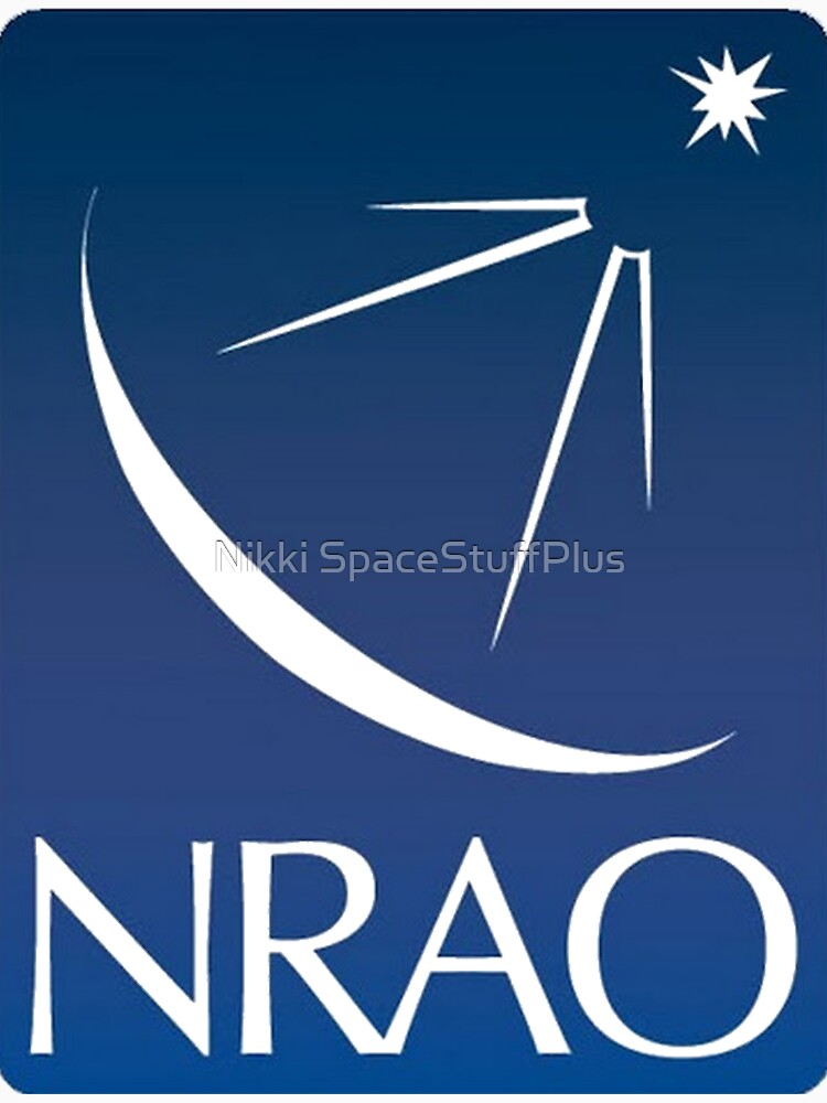 National Radio Astronomy Observatory Modern Logo by Spacestuffplus