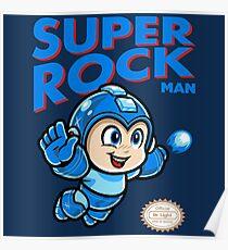 Super Rock Man Poster