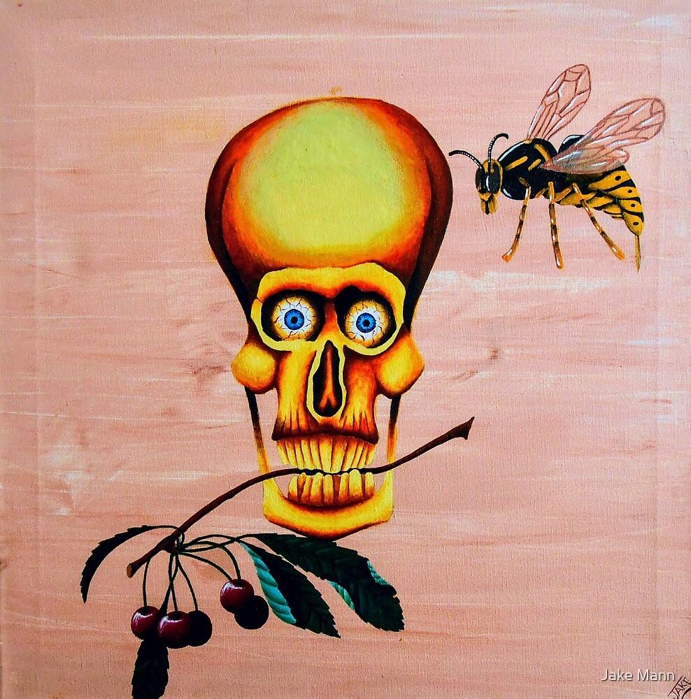 Cherry Skull Wasp by Jake Mann